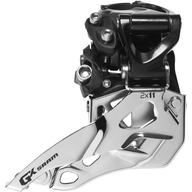 SRAM GX Umwerfer 2x11-fach High Clamp Top Pull schwarz