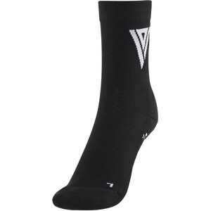 ION Pole Mid-Cut Socken black black
