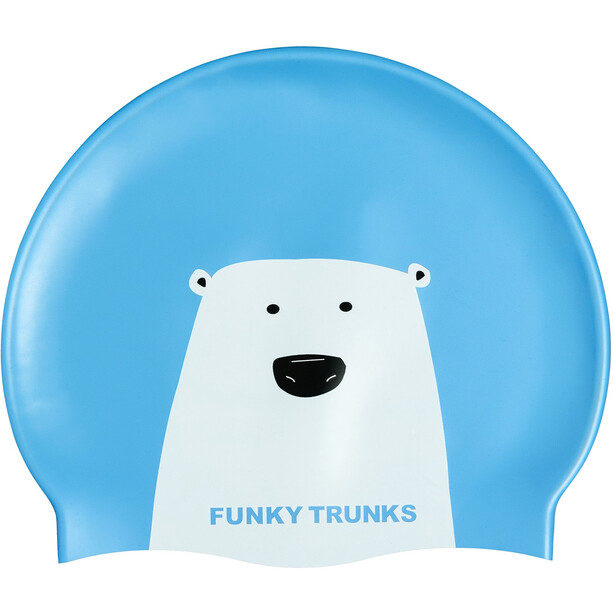 Funky Trunks Silicone Schwimmkappe bear grills