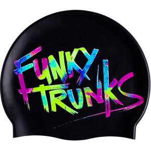 Funky Trunks Silicone Bonnet de bain, noir noir