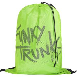 Funky Trunks Mesh Ausrüstungstasche Herren grün grün