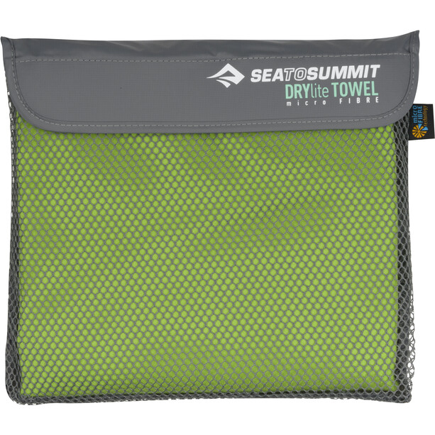 Sea to Summit Drylite Handtuch Antibacterial XL lime