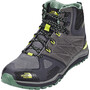 The North Face Ultra Fastpack II Mid GTX Schuhe Herren phantom grey/lime green
