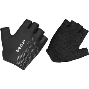 GripGrab Ride Lightweight Gepolsterte Kurzfinger-Handschuhe black black