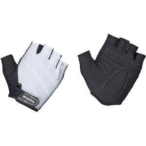 GripGrab Rouleur Gepolsterte Kurzfinger-Handschuhe white white