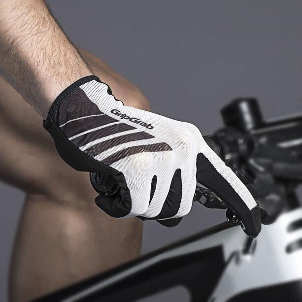 GripGrab Racing Gants, blanc/noir