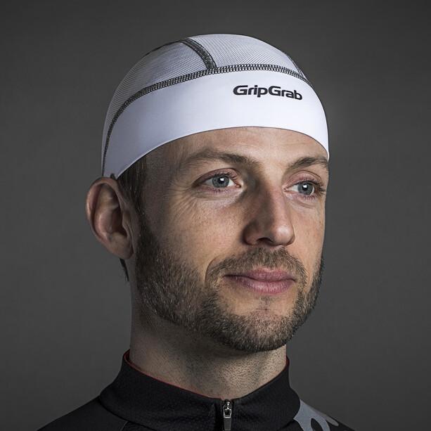 GripGrab UPF 50+ Lightweight Sommer Helmmütze white