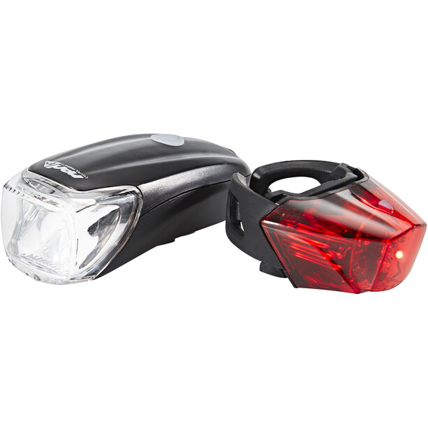Red Cycling Products Power LED USB Beleuchtungs Set schwarz