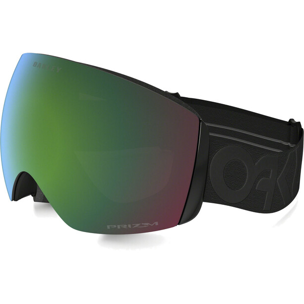 Oakley Flight Deck XM Snow Goggles fp blackout w/prizm jade