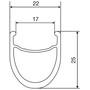 Mavic Ksyrium Pro Exalith Vorderrad 25 schwarz