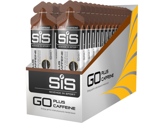 sis go plus caffeine gel box cola 30 x 60ml online kaufen. Black Bedroom Furniture Sets. Home Design Ideas