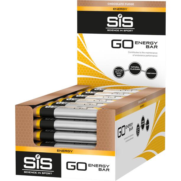 SiS GO Energy Bar Box 30x40g Schokoladen Fudge