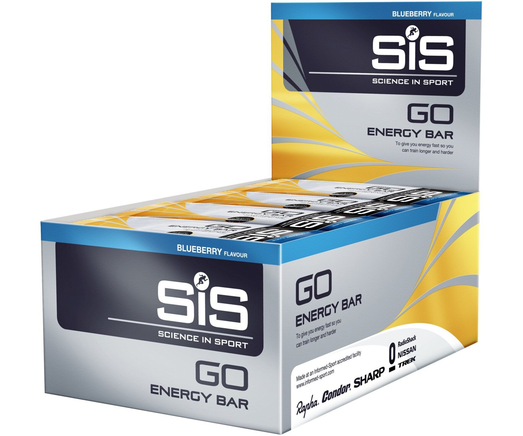 sis go energy bar box blueberry 30 x 40g g nstig kaufen. Black Bedroom Furniture Sets. Home Design Ideas