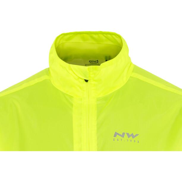 Northwave Vortex Jacke Herren yellow fluo