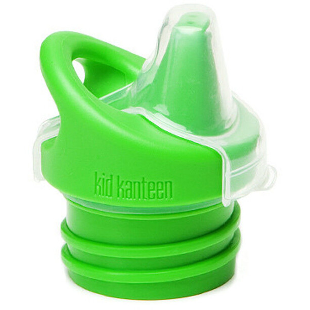 Klean Kanteen Kid Sippy Cap Barn green