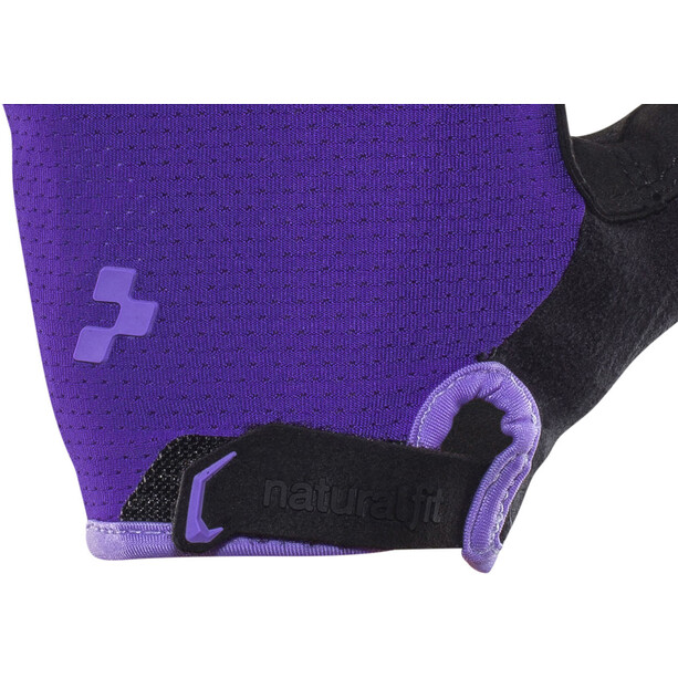 Cube Natural Fit WLS Kurzfinger Handschuhe Damen violet'n'purple