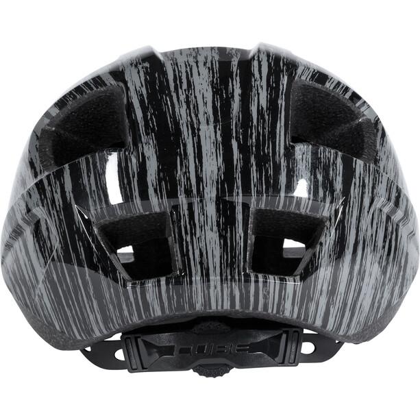 Cube CMPT Helm Kinder grey grunge