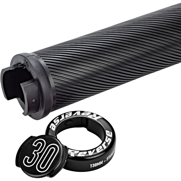 Reverse Nico Vink Signature Series Lock-On Griffe Ø30x130mm schwarz