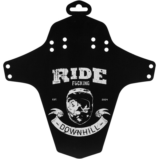 Reverse Ride Fucking Downhill Schutzblech schwarz/weiß