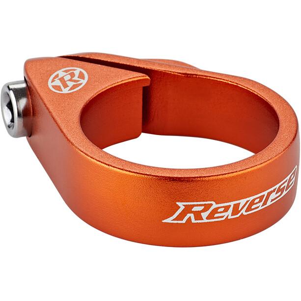 Reverse Bolt Sattelklemme Ø34,9mm orange