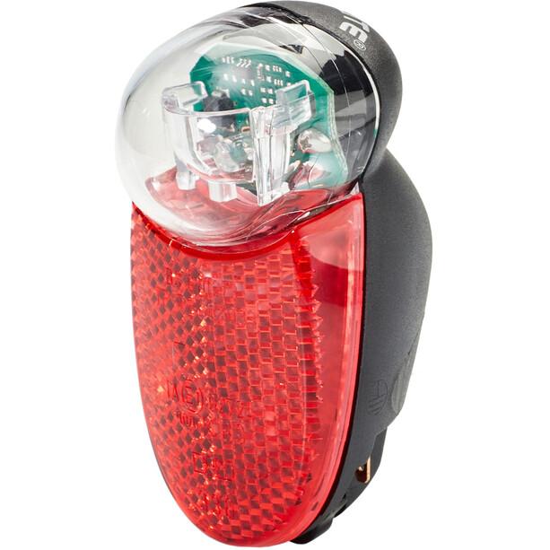Busch + Müller Seculite LED Rücklicht schwarz/rot