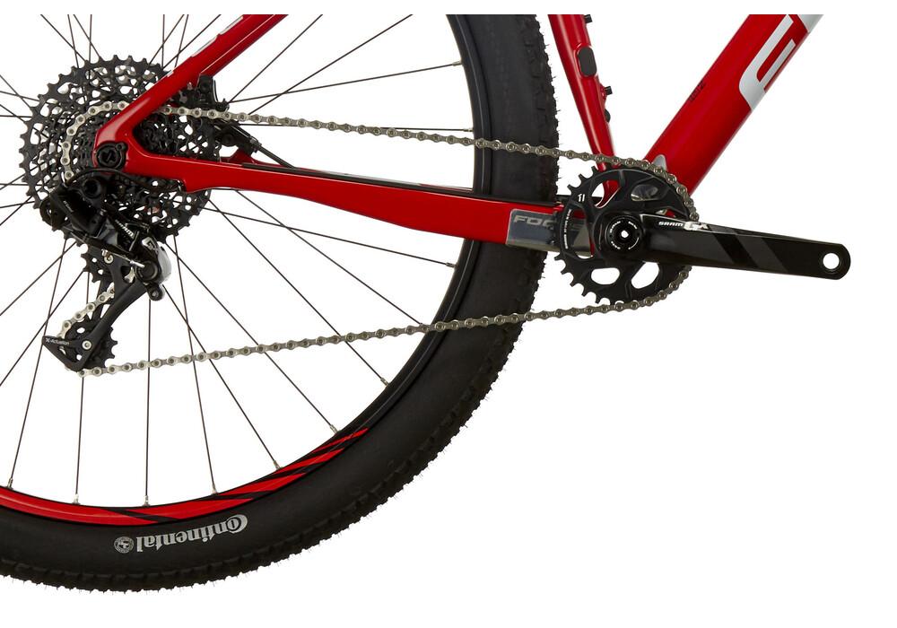 focus bikes raven evo 29 red white online kaufen bei bikester. Black Bedroom Furniture Sets. Home Design Ideas