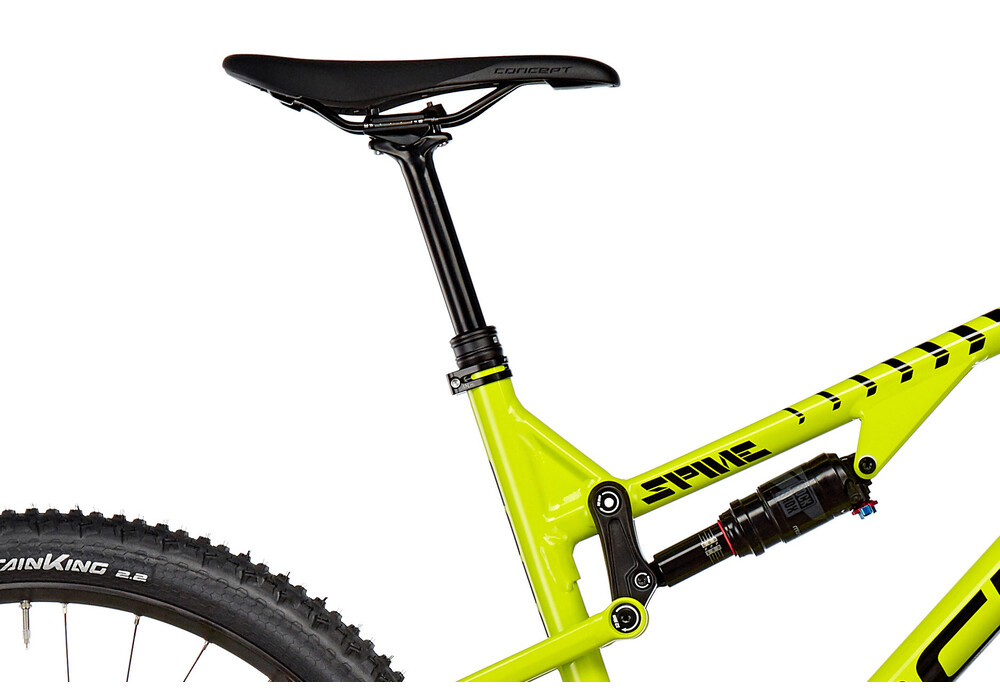 focus bikes spine evo 27 limegreen white online bestellen bei. Black Bedroom Furniture Sets. Home Design Ideas