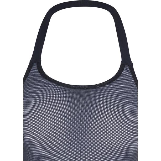 Cube Blackline Trägerhose kurz Damen black'n'white'n'grey