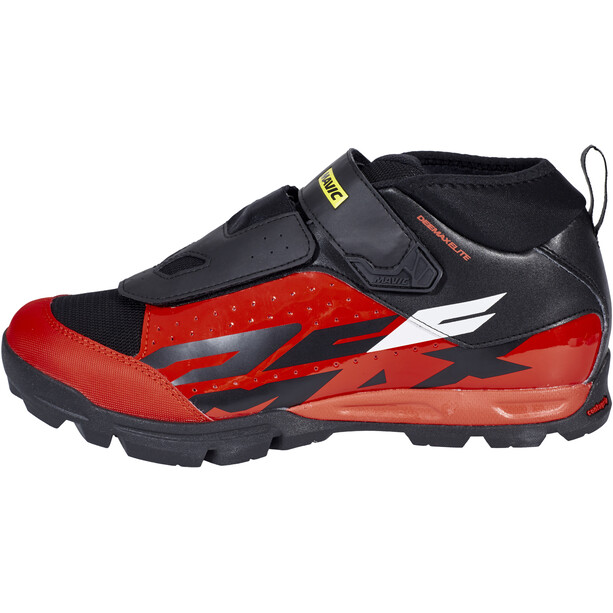 Mavic Deemax Elite Schuhe Herren black/fiery red/black