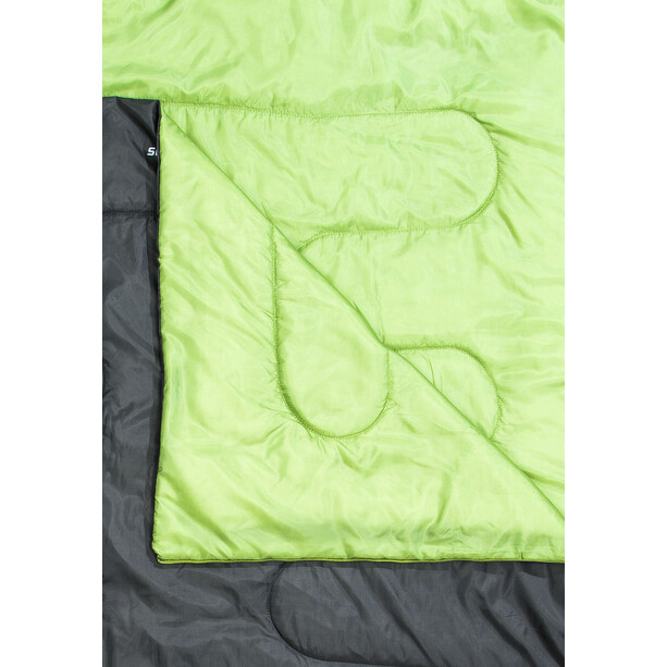 CAMPZ Surfer 400 Schlafsack Duo anthrazit/grün