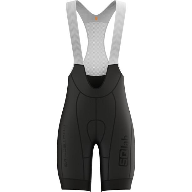 SQlab ONE12 Trägershorts Herren schwarz/weiß