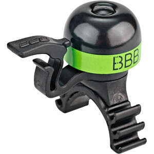 BBB MiniBell BBB-16 Klingel schwarz/grün schwarz/grün