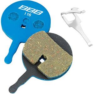 BBB DiscStop BBS-43T Plaquettes de frein à disque Avid, bleu bleu