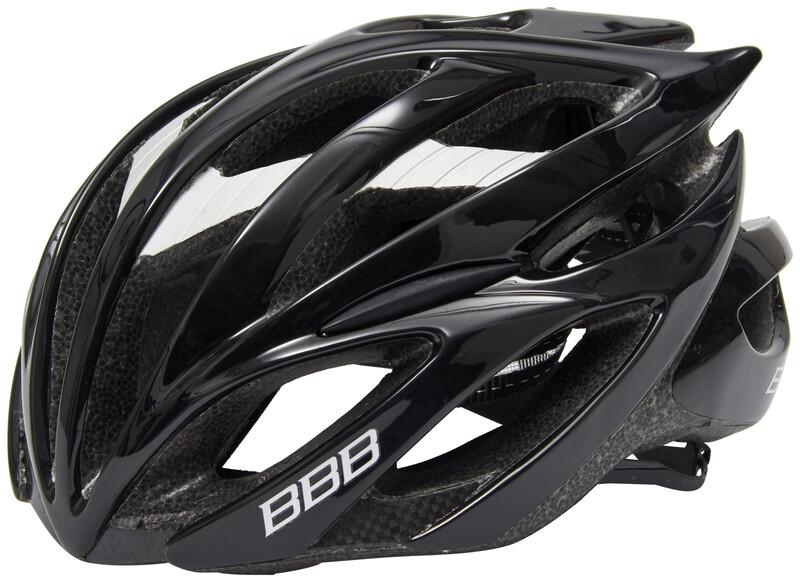 BBB Falcon BHE-01 Helmet black 55-58 cm 2018 Fahrradhelme