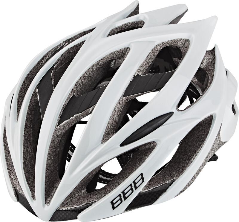 BBB Falcon BHE-01 Helmet white 55-58 cm 2018 Fahrradhelme