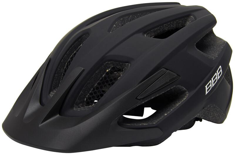 BBB Kite BHE-29 Helmet black 52-58cm 2018 Fahrradhelme