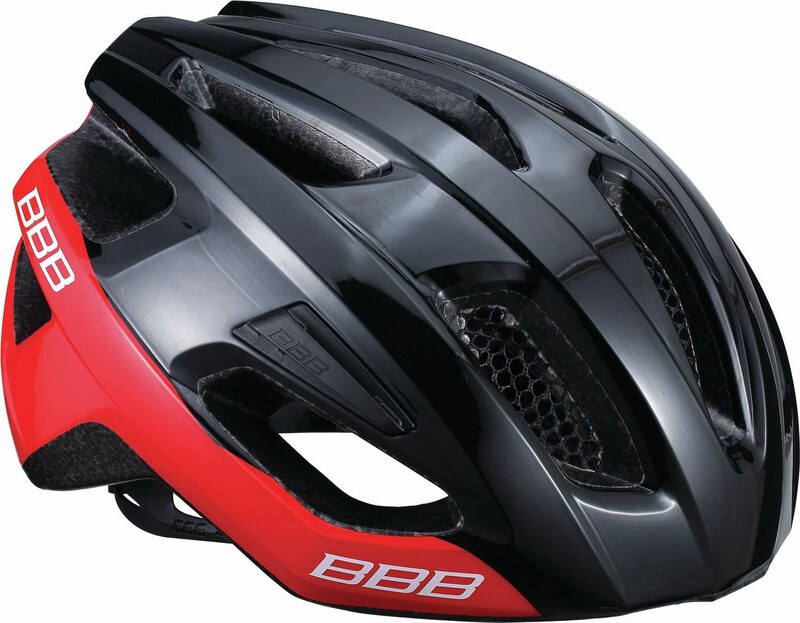 BBB Kite BHE-29 Helmet black/red 52-58cm 2018 Fahrradhelme