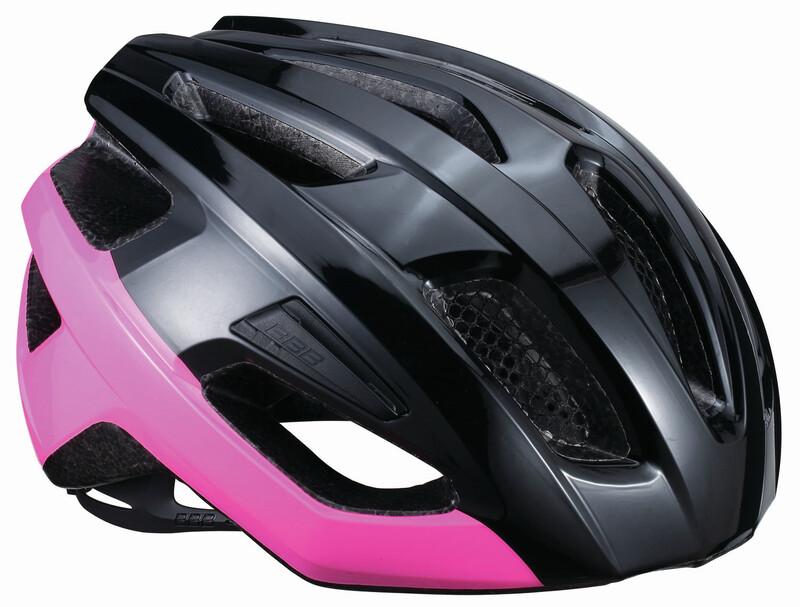BBB Kite BHE-29 Helmet black/neon pink 52-58cm 2018 Fahrradhelme