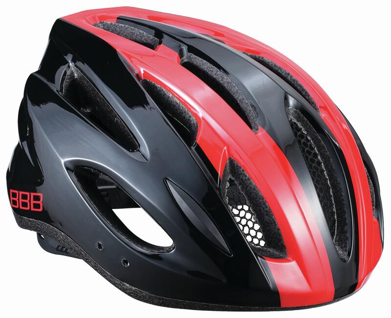 BBB Condor BHE-35 Helmet black/red 54-58 cm 2018 Fahrradhelme