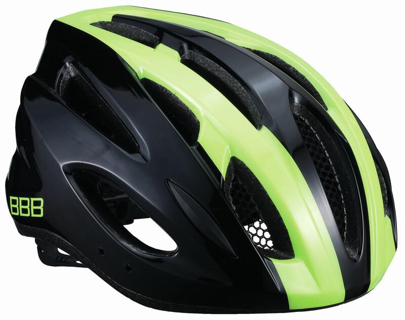 BBB Condor BHE-35 Helmet black/neon yellow 58-61 cm 2018 Fahrradhelme