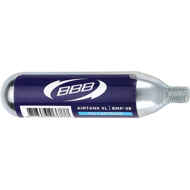 BBB Airtank XL BMP-38 CO2 Kartusche 25g blau