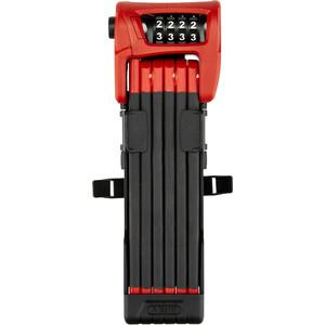 ABUS Bordo Combo 6100/90 SH Viklås svart/röd svart/röd