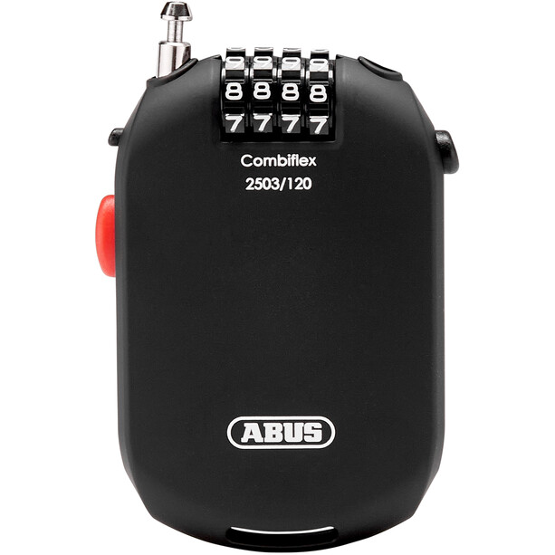 ABUS Combiflex 2503 Antivol rétractable solide, chiffres