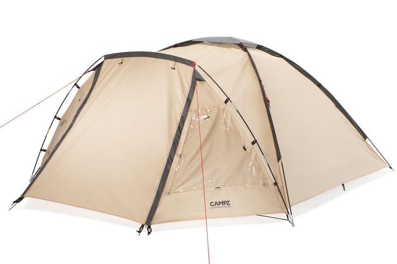 CAMPZ Bayland 4P Zelt beige 4-Personen Zelte CAMPZ-T-13