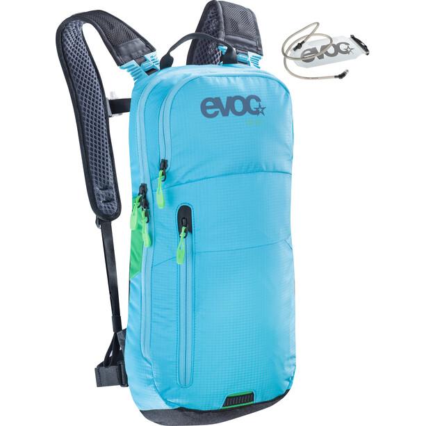 EVOC CC Rucksack 6 L + Hydration Bladder 2 L neon blue