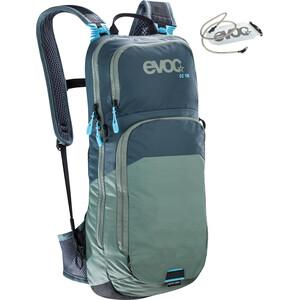 EVOC CC Lite Performance Rucksack 10l + Bladder 2l slate-olive slate-olive