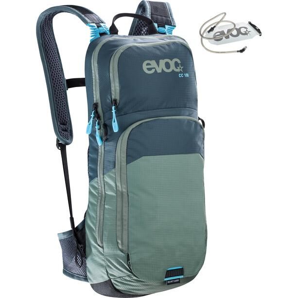 EVOC CC Lite Performance Rucksack 10l + Bladder 2l slate-olive