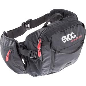 EVOC Hip Pack Race Rucksack 3 L + Hydration Bladder 1,5 L black black