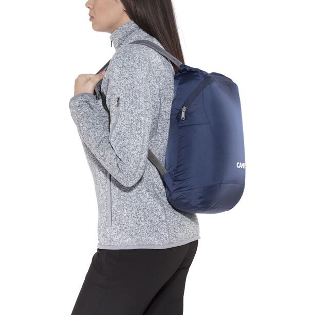CAMPZ Faltbarer Rucksack Ultraleicht 12l blau
