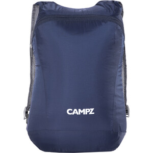 CAMPZ Faltbarer Rucksack Ultraleicht 12l blau blau